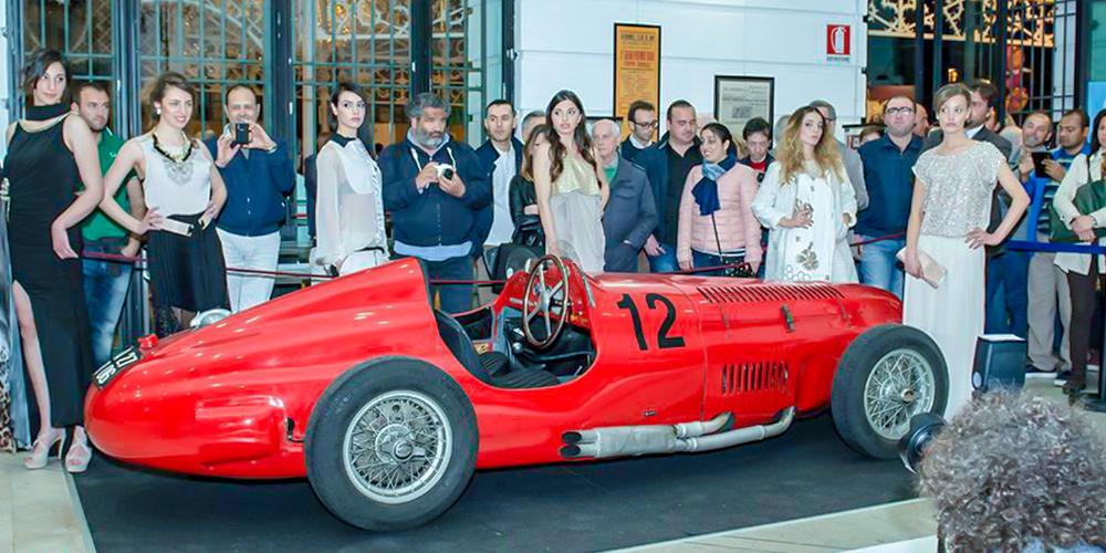 Gran Premio di Bari 2015: Arte, auto e moto in Sala Murat