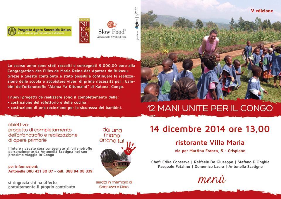 """""""Mani unite per il Congo"""" 2014: Il Gala di solidarietà"""