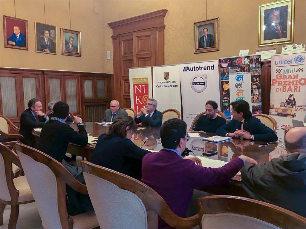 Conferenza stampa – Mini Gran Premio di Bari