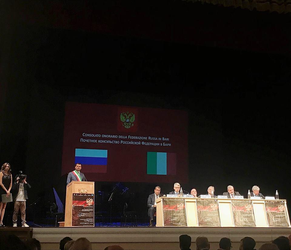 Inaugurazione nuovo Consolato Onorario della Federazione Russa in Puglia