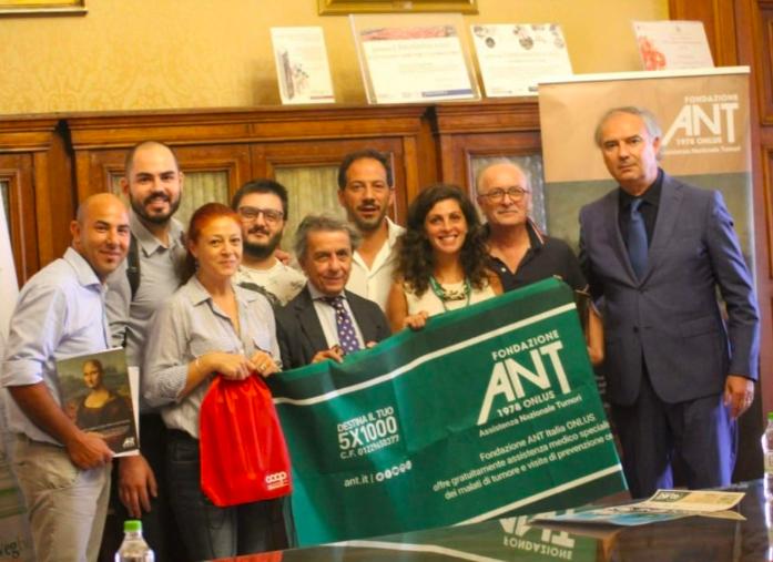 """La Fondazione Nikolaos presente alla conferenza stampa di """"CiclONE ANT"""""""