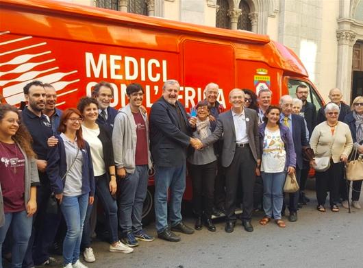 Medici con L'Africa CUAMM riceve dalla Regione un nuovo camper sanitario
