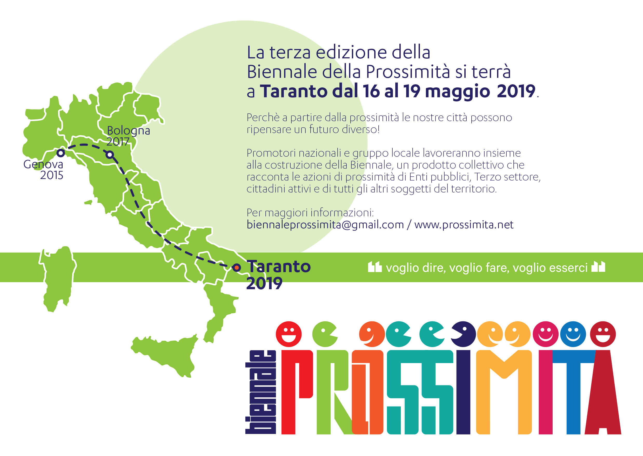 La Fondazione Nikolaos nel comitato locale di Taranto per la Biennale della Prossimità 2019