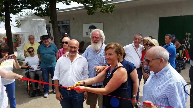 Inaugurazione orto della salute