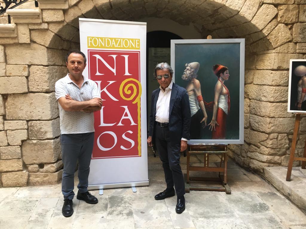 """Albert Metasani al Castello di Bitritto con la mostra """"Alla ricerca dell'Identità nel Tempo"""""""