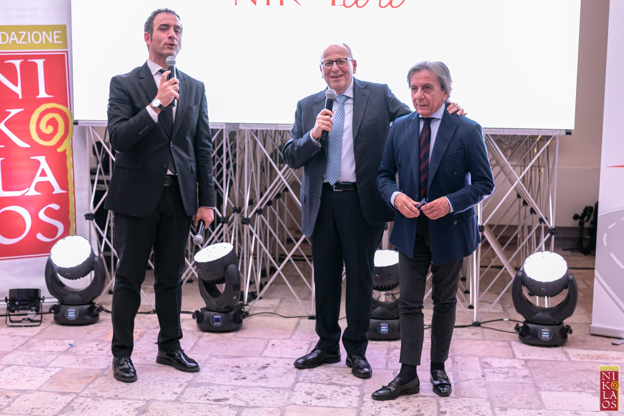 Grande festa per i dieci anni di attività della Fondazione Nikolaos