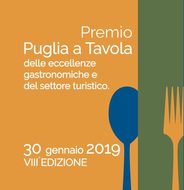 """VIII edizione del Premio """"Puglia a Tavola"""""""