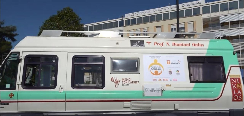 Medici con il Camper a sostegno dei pazienti oncologici pugliesi