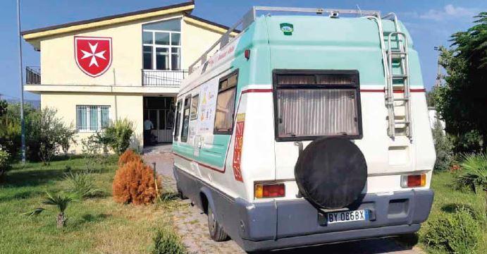 Medici con il Camper in Albania