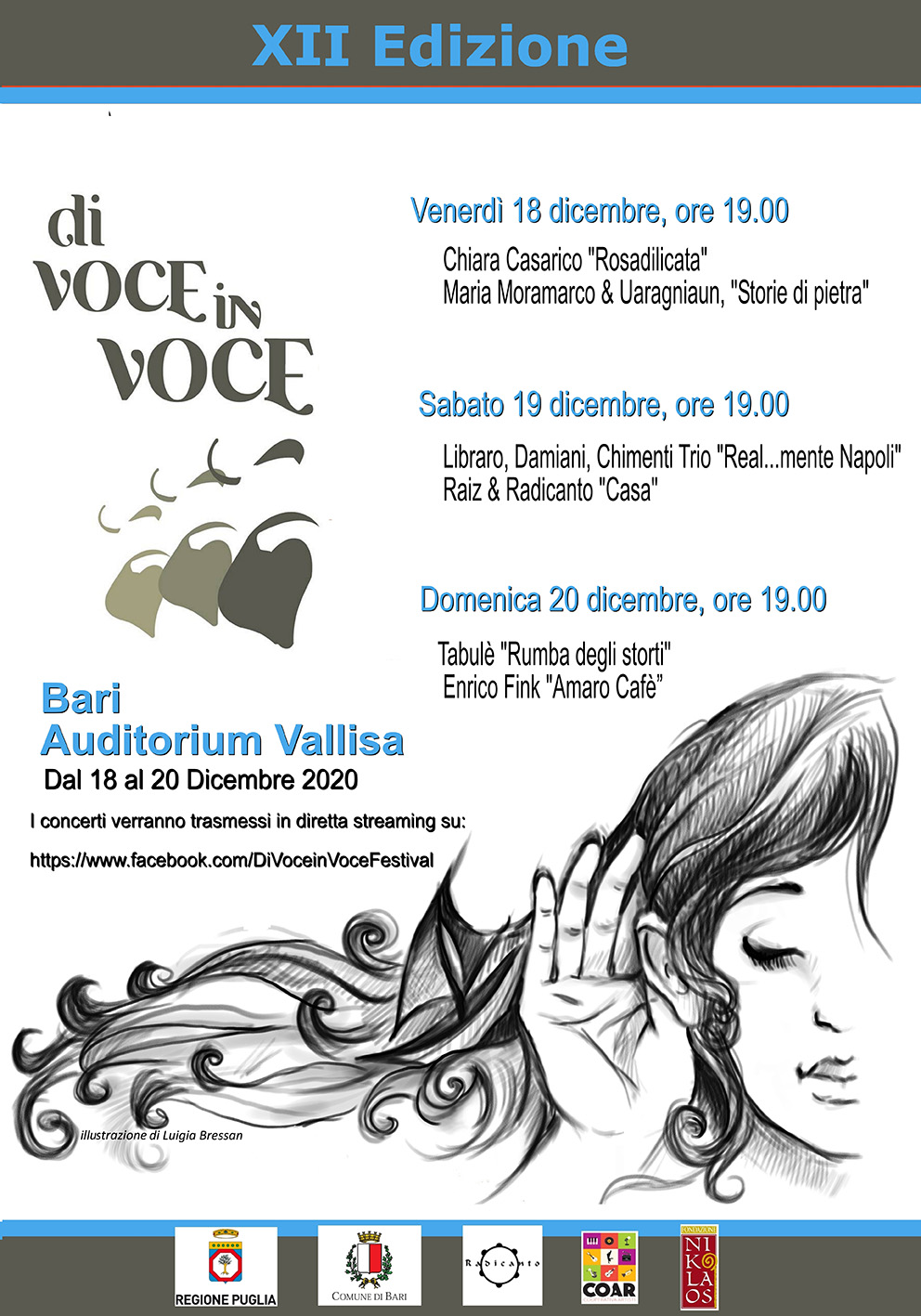 """XII edizione del festival metropolitano """"Di Voce in Voce"""""""