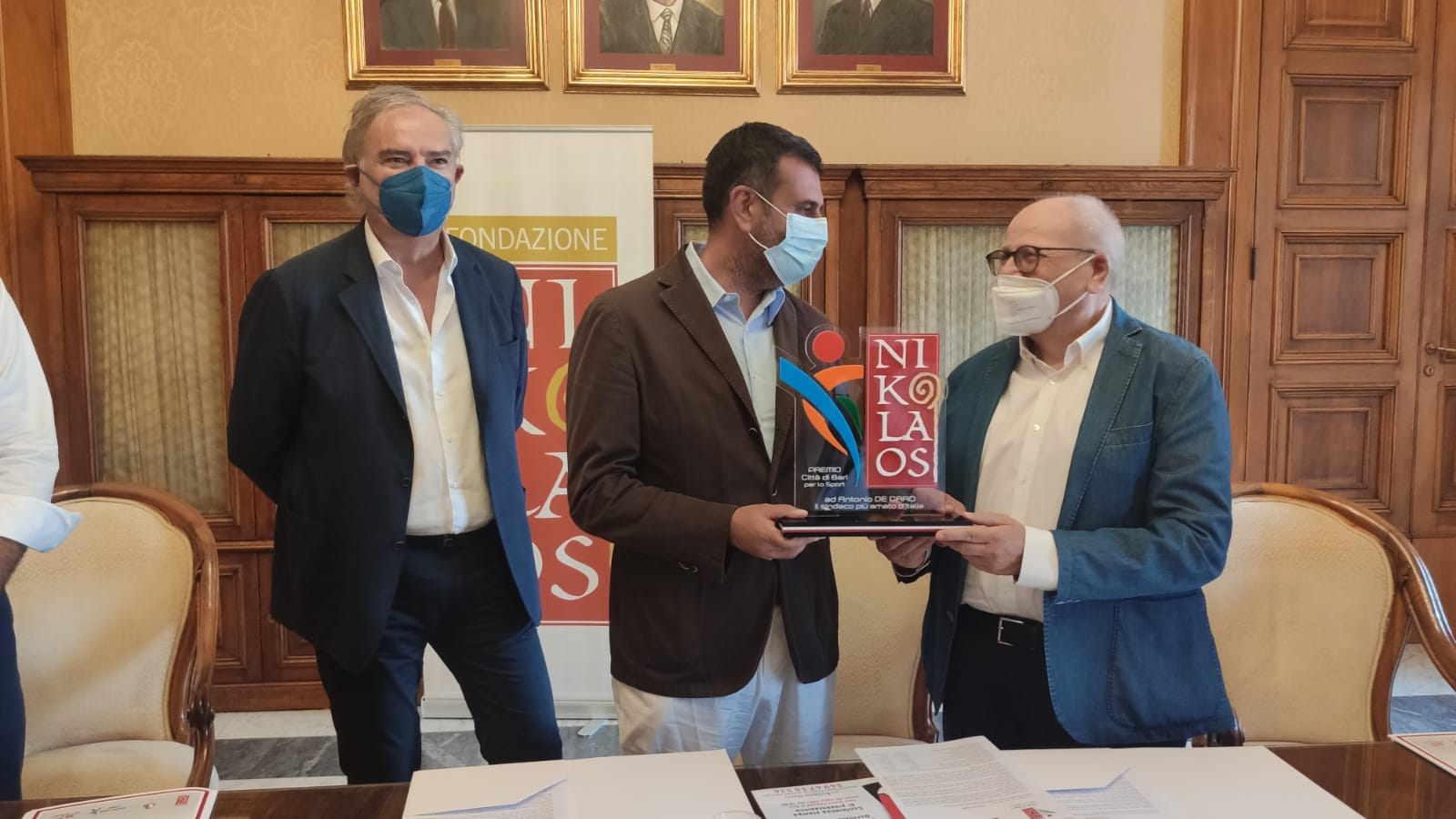 Conferenza Stampa – Premio Nikolaos dello Sport città di Bari