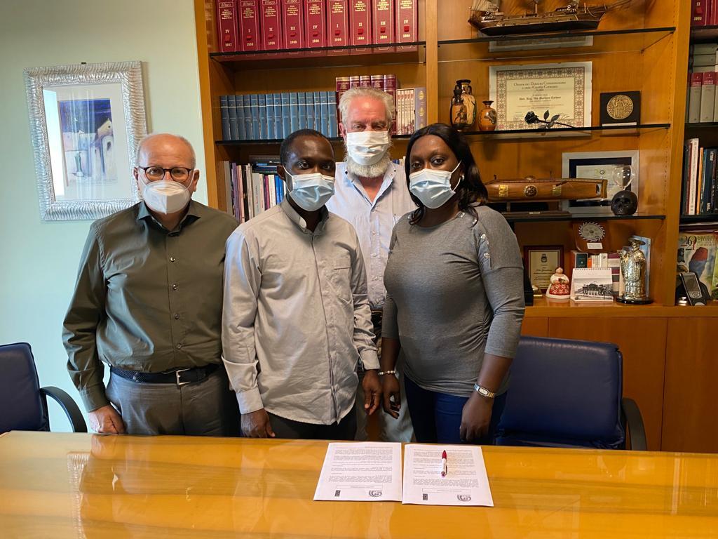 Importante accordo di cooperazione sottoscritto dalla Fondazione Nikolaos con la ONG Arc-En-Ciel de la Vie della Costa D'Avorio